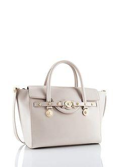 c284d17feb The Versace Large Signature Flap Handle.  VersaceSignatureBag  Versace  Versace Bag