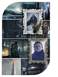 """""""Samwell Tarly of House Tarly and The Night's Watch"""" by annette-heathen ❤ liked on Polyvore featuring art, GameOfThrones and TheNightsWatch"""