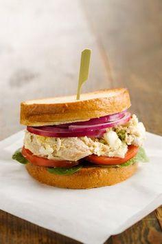 Paula Dean: Jamie's chicken salad sammy YUM