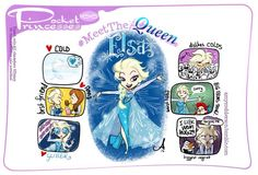 Last of the Meet the Princess series! I love them, they're so cute! And by the amazing creator of Pocket Princesses!
