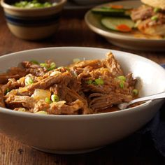 Pulled-pork-with-ginger-sauce