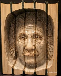 Book Carvings by Lundy Cupp