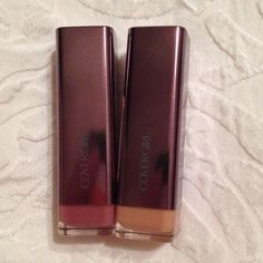 CoverGirl Lipsticks New & Sealed Creme & Delicious. Both for $10 Covergirl Makeup Lipstick