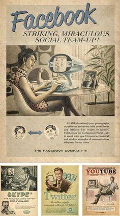 Vintage Modern Adverts