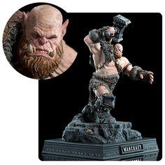 BLOG DOS BRINQUEDOS: Warcraft Orgrim 1:10 Scale Statue