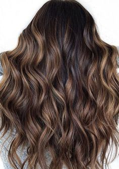 Golden Brown Balayage - 20 Best Golden Brown Hair Ideas to Choose From - The Trending Hairstyle Rich Brown Hair, Golden Brown Hair, Brown Hair With Blonde Highlights, Brown Ombre Hair, Brown Balayage, Long Brown Hair, Balayage Hair, Dark Hair, Balayage Brunette Long