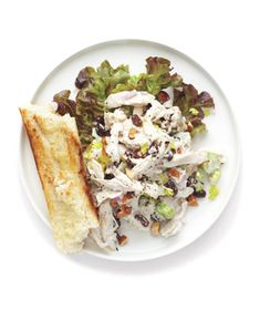 Chicken Salad With Celery and Shallot recipe from realsimple.com #myplate #protein