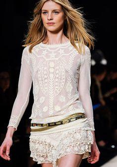 # Isabel Marant осень 2012 Топ RTW # # Новая мода # # красоты Nice www.2dayslook.com