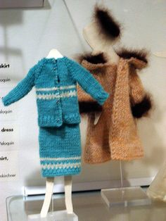 vintage Barbie knitwear by stepintomythimble..my mama made all of ours