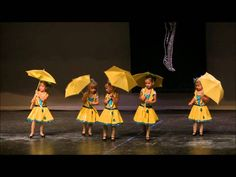 Kaya Singing in the Rain  dance show 2011 06