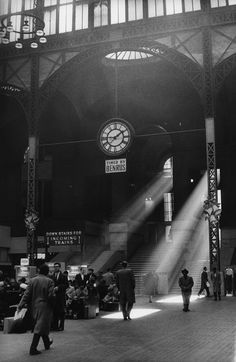 Pennsylvania Station, Nueva York, 1942