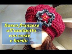 YouTube Crochet Beret, Freeform Crochet, Crochet Accessories, Purses And Bags, Knitting, Pink, Crafts, Friends, Videos