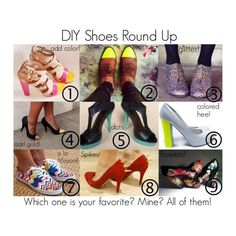 DIY Shoes Round Up: Which ones YOUR fave?