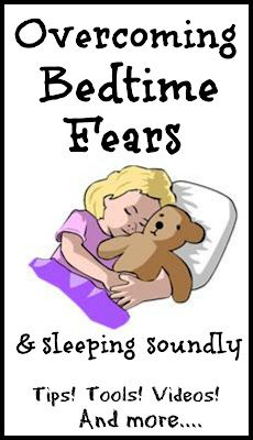 Overcome fear of the dark and other childhood fears  @Melissa Squires Lambert