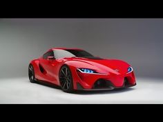 Toyota FT-1 Concept Car cool video shows the inside as well