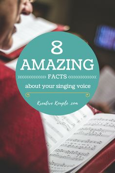 8 Amazing Facts About Your Singing Voice - Pinterest Image