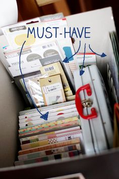 GREAT tips on how to get started with Project Life, what you need, how to organize...