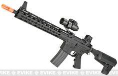 Krytac Full Metal Trident SPR Airsoft AEG Rifle - Black