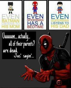 I love Deadpool lol