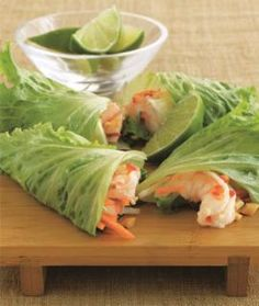 Low-Carb Shrimp Summer Rolls Recipe from The New Atkins for You Cookbook - Shape Magazine