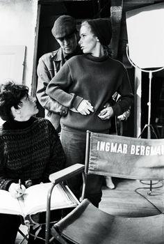 Ingmar Bergman and Liv Ullmann