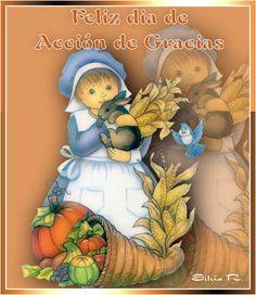 FELIZ DÍA DE ACCIÓN DE GRACIAS - DETALLITOS CRISTIANOS - Gabitos