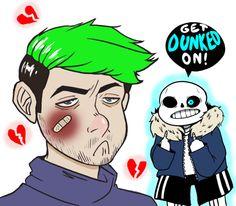 punk-bean: Poor jacksepticeye got dunked on so bad :(