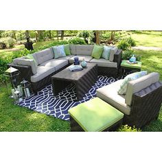 Canyon Sectional with Premium Sunbrella® Fabric