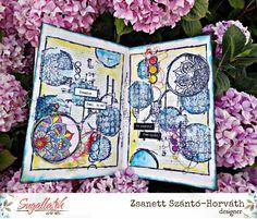 Bélyegezz és fess! Scrapbook Cards, Marvel, Journal, Feelings, Journal Entries, Journals, Scrapbooking