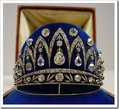 The French Empress Josephine tiara created in 1890