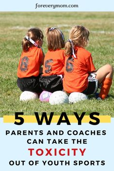 It's awesome to win. but playing sports should also be fun for kids! Learn the 5 ways parents and coaches can take toxicity out of youth sports. Good Parenting, Parenting Humor, Parenting Hacks, Baseball Boys, Softball, Parent Coaching, Bible Encouragement, Sports Mom, 5 Ways
