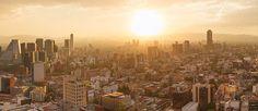 Birdseye view of Mexico City, Mexico - AirPano.com • 360° Aerial Panorama • 3D Virtual Tours Around the World