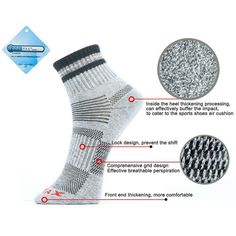 2016 New Unisex Thermal Casual Winter Warm Socks Mens & Womens Outdoors Comfortable Sock Coolmax Free Shipping