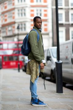 The 21 Most Fashionable Fellas In London #refinery29  http://www.refinery29.com/london-mens-fashion#slide-5  Lessons in layering 101.