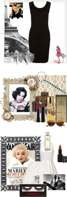 """Hollywood Icons"" by beautydesk on Polyvore"