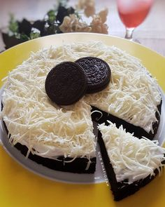 Oreo Cake, Cake Cookies, Brownie Cookies, Cookie Recipes, Dessert Recipes, Oreo Desserts, Japanese Cheesecake, Indonesian Food, Indonesian Recipes