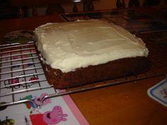 James's Carrot cake 2012