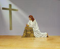 REL 47  CHRIST PRAYING