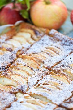 Apple Cake, Apple Recipes, No Bake Cake, Breakfast Recipes, Sweet Tooth, Good Food, Food And Drink, Tasty, Favorite Recipes
