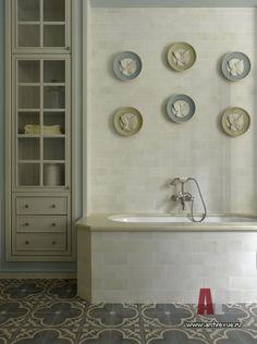Фото интерьера ванной дома в американском стиле
