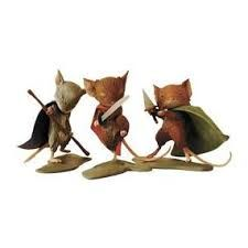 Image result for mouse guard figurines