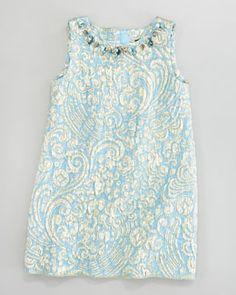 Z0SSM Dolce & Gabbana Brocade Shift Dress