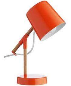 orange bedside lamp - Google Search