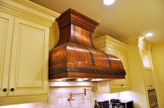 "36"" Bettina Copper Range Hood-Made in U.S.A #ArtofRain"