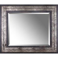 Hobbitholeco. Beveled Wood Mirror