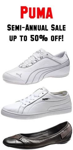 Puma Semi-Annual Sale ~ up to 50% off!! #shoes