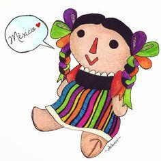 Follow my doodles on Instagram! @debcustudio #illustration #doodle #art #mexico #drawing