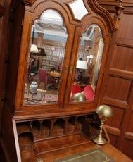 Antique Secretary at the Franklin Living Room