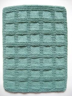 Hand Towels Sea Green Bluegreen Hand Knit 9 por CozyKitchenKnits