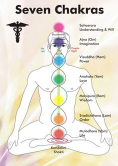 Alternative Medicine - Understanding your Chakra's The picture describes the basics of yoga and what each chakra means. Each chakra is often practiced while doing yoga. Yoga Kundalini, Chakra Meditation, Chakra Healing, Guided Meditation, Reiki Chakra, Chakra Crystals, Pranayama, Ashtanga Yoga, Crystal Healing